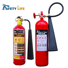 carbon dioxide automatic fire extinguishing device / co2 extinguisher with side horn / carbon dioxide fire extinguisher