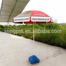UV sunshade Outdoor Advertising sunshade Tilt Design Beach Sun Umbrellas