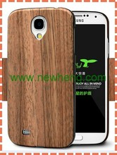 Wood veneer PC cell phone case for samsung galaxy S4 i9500