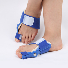 New High quality blue Plastic Toe Separator / Big Toe Straightener Corrector / Splint Pain Relief