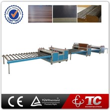 Woodworking multi-funtional paper laminating machine