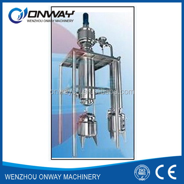 TFE high efficient thin film evaporator for used oil recycling