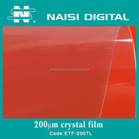 hot sale PET crystal clear laminating film 200mic for protection
