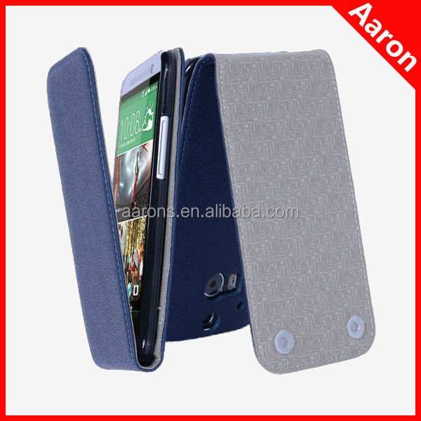 sucking disc case for HTC M8 oracle lines leather case flip case