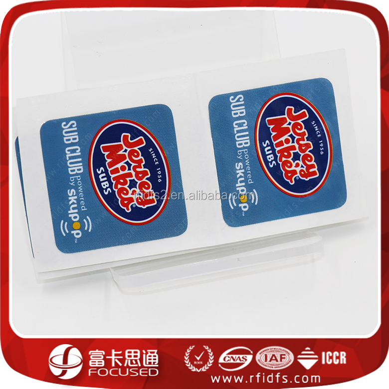 Free Samples Programmable ID Card RFID NFC Tag/Label/Sticker