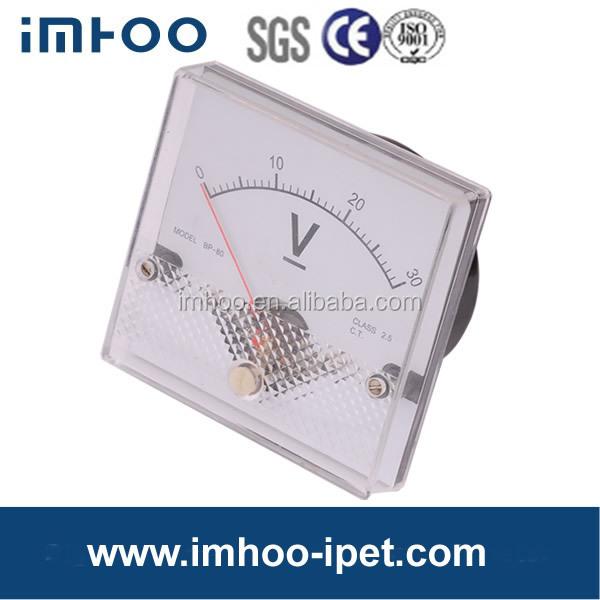 80 Moving Coil DC Panel Ammeter 6 maximum demand ammeter