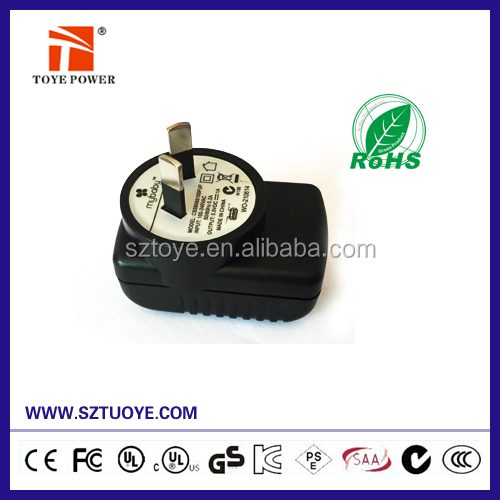 Alibaba express usb charger 5v 2.5a power adapter 5v 2500ma