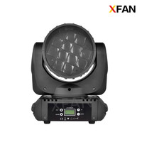 High brightness mini led 12x10W rose sharpy beam moving head led stage lighting