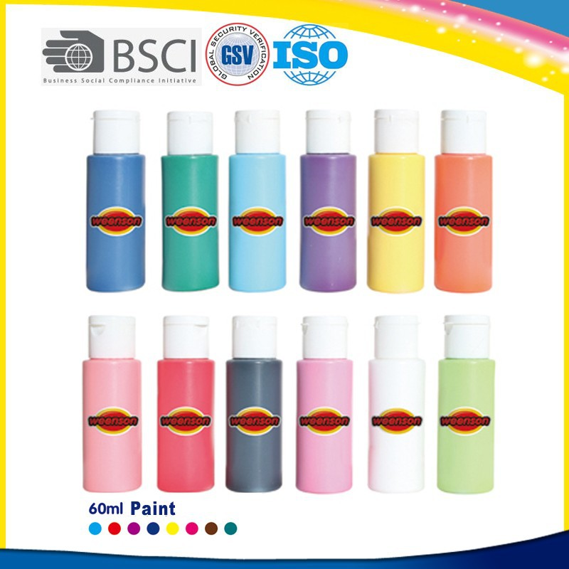 Non toxic acrylic paint for artist wholesale