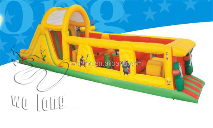 custom inflatable obstacle course, obstacle course inflatable, kids obstacle course equipment