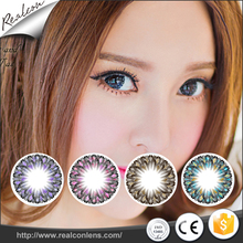 Wholesale cheap CLEAR-series factory color eye lens cosmetic colored contact lenses for big eyes