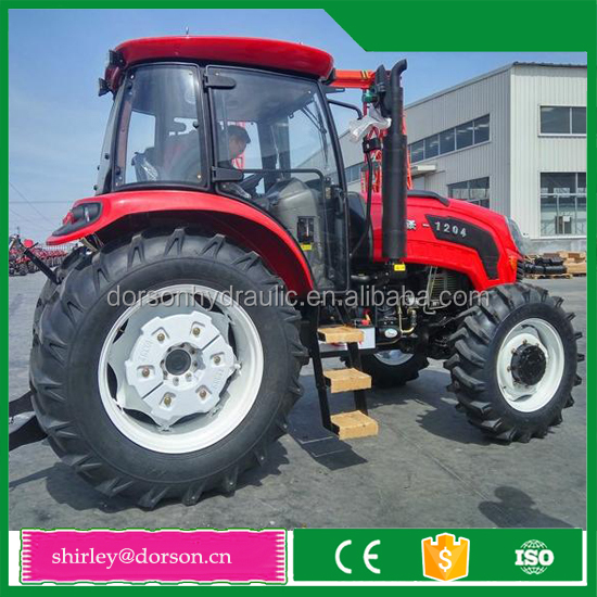 120hp 4WD new model cheap chinese farm tractor with cabin