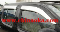 NAVARA door visor window visor bonnet guard