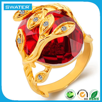 China Supplier Gold Design Diamond Kundan Ring Designs