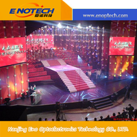 Hot selling programmable stage background led display board for rental