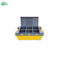 Plastic Waterproof Compartment Storage Box With Handle