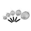 Mesh Strainer with TPE Handle, Stainless Steel Kitchenware, Mesh Houseware