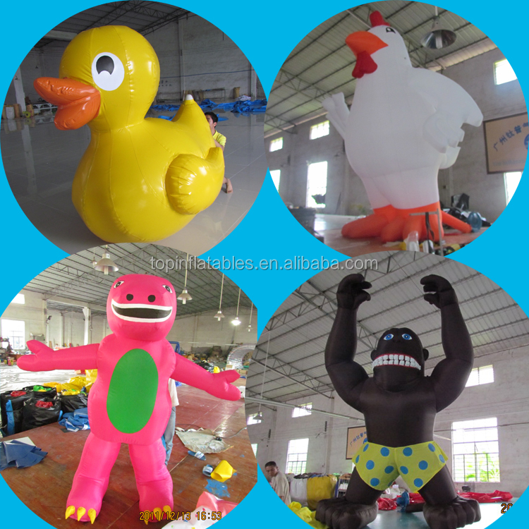 inflatable costume mascot,inflatable cartoon characters,inflatable advertising