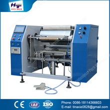 Chinese products wholesale 450MM flexo aluminum foil slitting rewinding machine