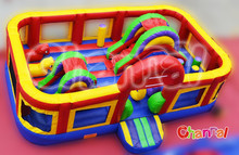 Cheap commercial backyard adult and kids play inflatable jumpers