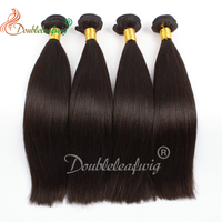 10A Grade Double Drawn Thick Ends Unprocessed Brazilian virgin Human Hair clip in hair extension