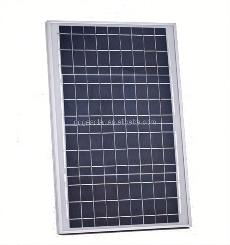energy saving 18 v 50 W polycrystalline solar cell for solar panel