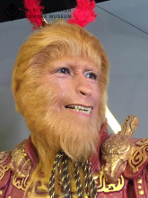 Custom Wax Figure of Handsome Monkey King Mavel Action Figure