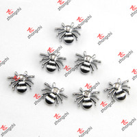 Black Cool Spider Slide Charms Wholesale
