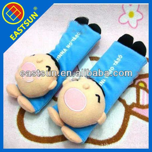 cartoon comfortable lint car seat belt cover pillow shoulder pad2016 new