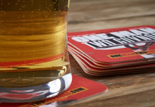 Disposable Beer Drink Coasters /round shape absorbent paper mat