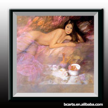 Pure hand-painted canvas beautiful nude girl sexy image bedroom painting decorative painting, selling, wholesale