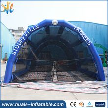 Guangzhou Factory inflatable sport cage , inflatable baseball batting cage with good price