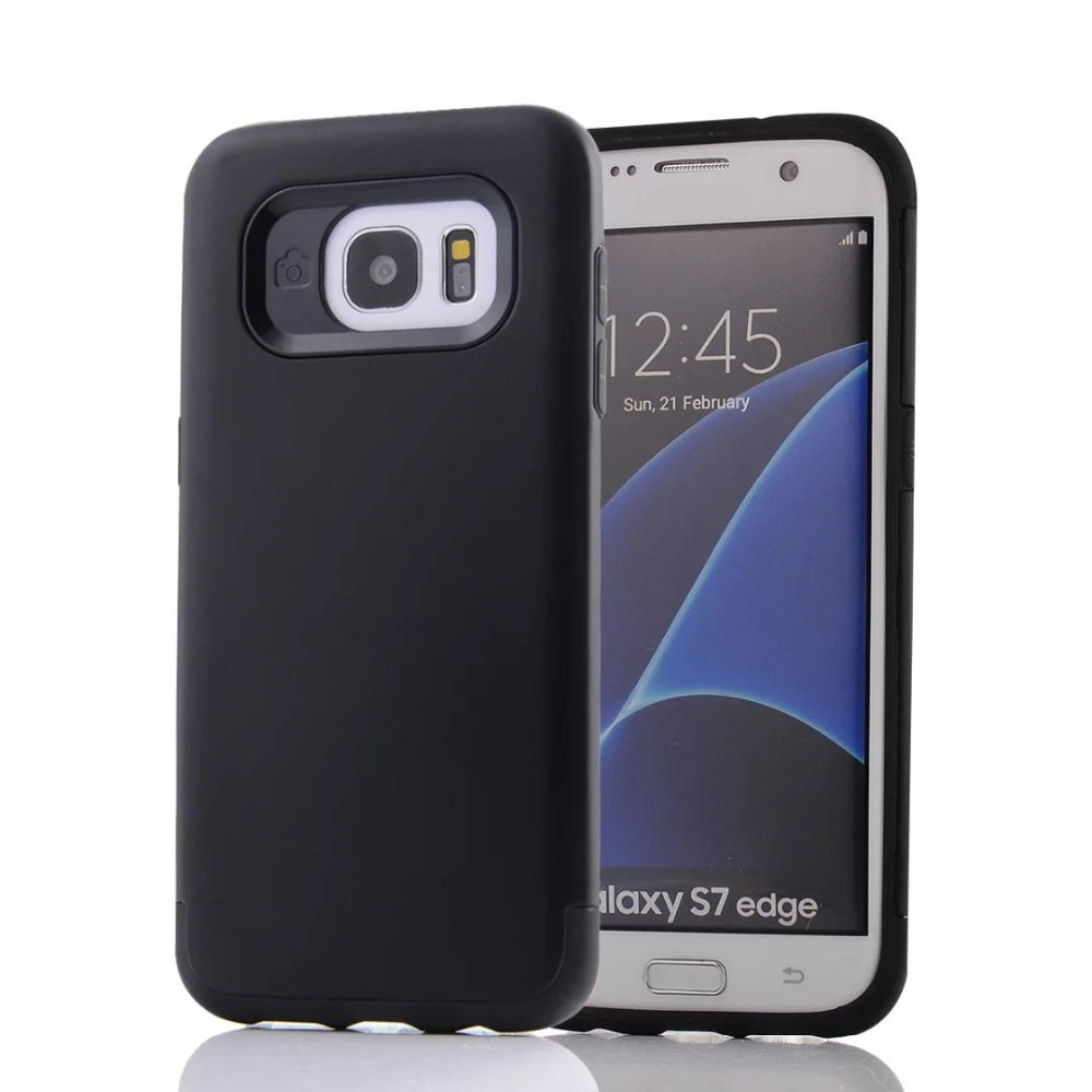 Hybrid TPU PC Shell Protective Shockproof Case Cover for Samsung Galaxy S4 i9500