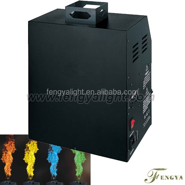 100w fire flame machine dmx spray fire machine/stage fire machine