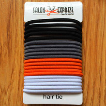 BSCI Certificate Hair Accessories Manufacturers China Wholesale Colorful Hair Tie For Women Girls Elastic Hair Band