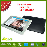 shenzhen wholesale IPS screen quad core 10.1inch 3g sex tablets for women