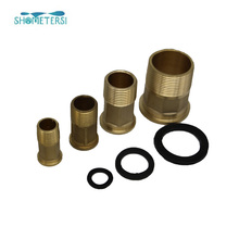 China manufacture Water Meter Fitting Brass Connector