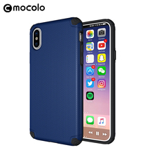 New Design Anti-Shock TPU PC Back Cover For Iphone 8 Anti Dropping Phone Case For Iphone 8Plus X