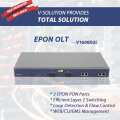 2 PON PORT EPON OLT Efficient Layer 2 Switching GEPON Optical Line Terminal Unit