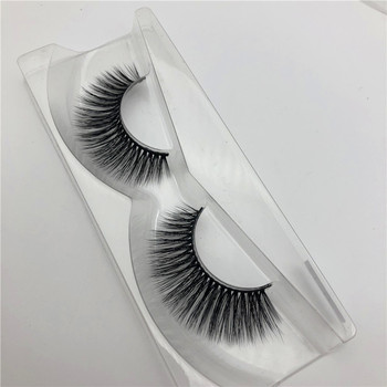 3D Real Mink Fur False Eyelashes Reusable Handmade Natural Long False Lashes