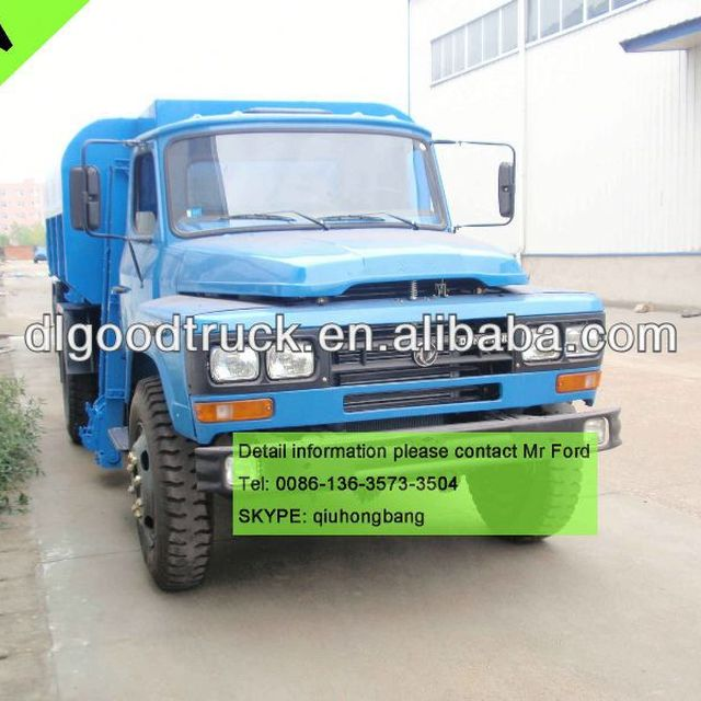 Dongfeng 8T 8000L Bin lorry 0086-13635733504