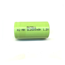 High Drain Rechargeable Battery NIMH 1.2V SC 2500mAh Power Tools Batteries