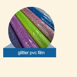 OEM ODM accepted colorful/many different colors glitter pvc canvas bag material