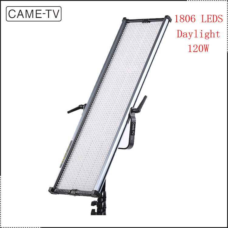 CAME-TV Ultra Slim 1806D Daylight Video LED Panel light 18-24v 5600k