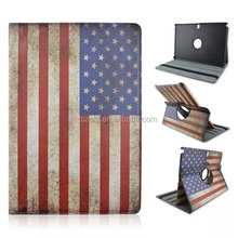 US, UK flag and the Statue of Liberty printing case, 360 degree rotation stand case for Samsung galaxy Note pro12.2 P900