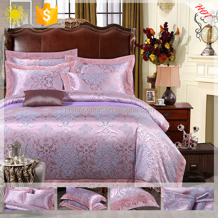 indian textiles 4PCS duvet cover sets bedding set with polyester