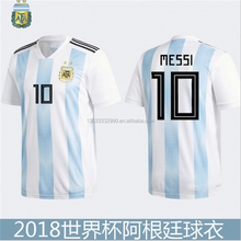 2018 championship cup national team soccer jerseys Stripe World Russia final Brazil England France Argentina football shirt