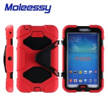heavy duty 7 inch android tablet cases for Samsung tab 3/p3200/3201