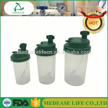 Medical Oxygen Bubbler Humidifier Bottle With USFDA