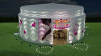 inflatable Birthday Cake, event tent K5022